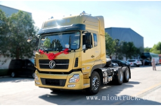 China Dongfeng Tianlong DFL4251A15 heavy truck 450HP 6*4  tractor truck factory