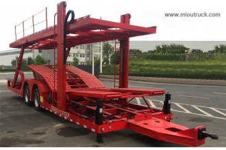 China Dongfeng brand EQ9170TCLZM  Vehicle transport trailer factory