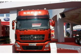 China Dongfeng commercial heavy truck 450 hp 6X4 truck and trailer factory