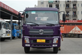 China Dongfeng tianjin 185hp 4X2 7.5m driving truck factory