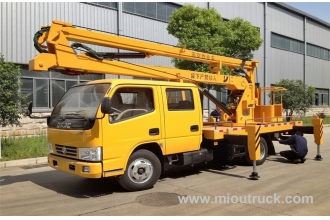 Tsina Dongfeng truck chassis Specification High altitude operasyon truck supplier factory