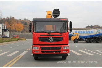 Dongfeng truck with crane 10 ton,truck mounted crane manufacturer