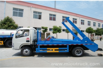 China Garbage  Dongfeng skip vessel  truck,rubbish truck,swing arm garbage truck Garbage truck for sale in China factory