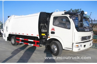 China High Performance Dongfeng 8CBM small compactor garbage truck factory