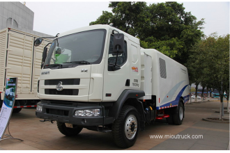 China High Performance Dongfeng road sweeper machine factory
