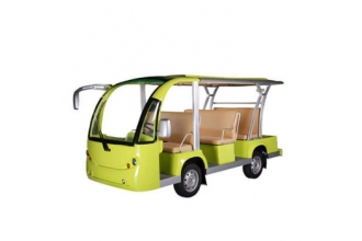 China High Quality Good new electric sightsee bus from China with cheap price factory