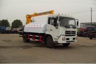 China Low price with good performance Dongfeng brand road sweeping vehicle Dust car factory
