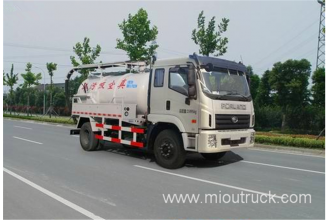 China New sewage suction truck vacuum tanker truck for sale factory