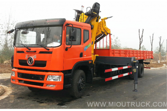 China The new Dongfeng 12 tons Crane  6*4 factory