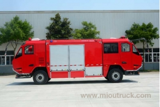 China Two head fire truck for convenience two steering use factory