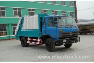 China Dongfeng 4*2 160hp  garbage truck for sale factory