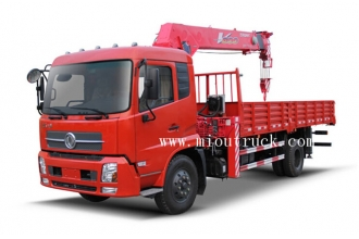 China factory sale 4*2 dongfeng  UNIC truck with crane factory