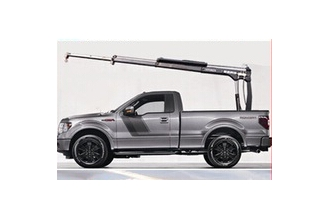 China hot sell pickup crane from china with radio control  800kg or 1000kg small crane for pickup truck factory