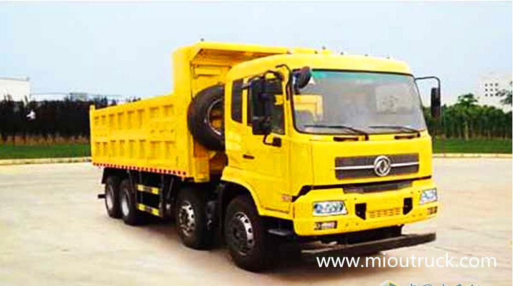 42e0dff172 Dong Feng 8 4 300hp Dump truck on sale - truck mounted crane