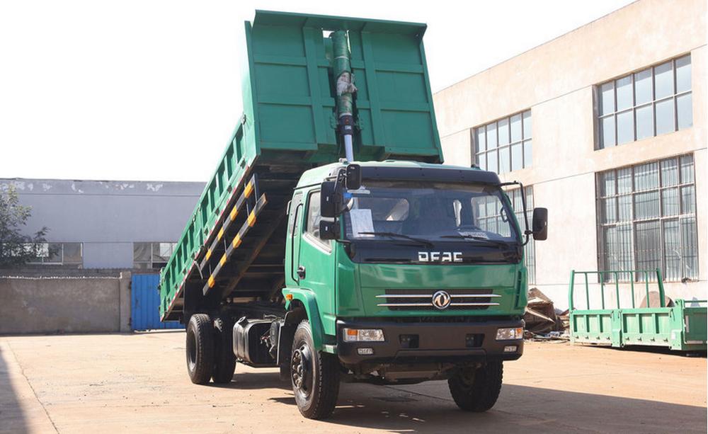 5516c179ce Dong feng 160horsepower Dump truck - truck mounted crane