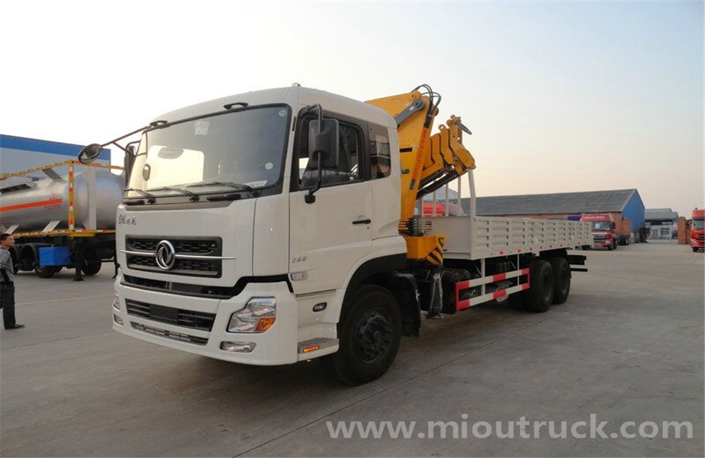 fa33c5adf7 Dongfeng king-land crane truck 6x4 truck with crane mounted crane price for  sale